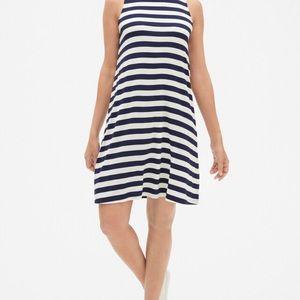 Gap Dress Modern Stripe Sleeveless Dress.  Size M